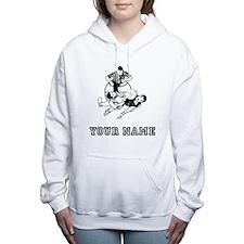 Jump Ball Women's Hooded Sweatshirt