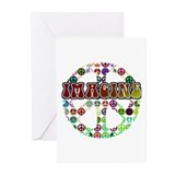 Peace Sign - World Peace Greeting Cards (Pk of 20)