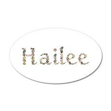 Hailee Seashells 35x21 Oval Wall Decal