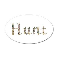 Hunt Seashells 20x12 Oval Wall Decal