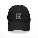 Black Poodle Black Cap
