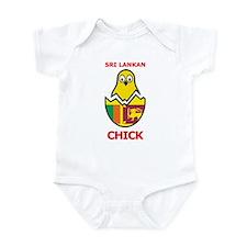 Sri Lankan Chick Infant Bodysuit