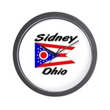 Sidney Ohio Wall Clock