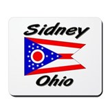 Sidney Ohio Mousepad