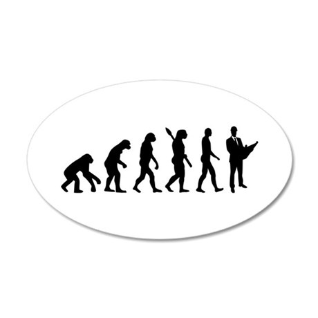 Evolution Architect 20x12 Oval Wall Decal