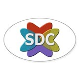 SDC Logo without the .com for discretion, Decal