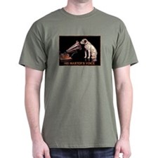 VINTAGE DOG ART: RCA DOG T-Shirt