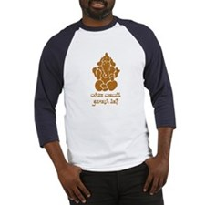 What Would Ganesh Do? Baseball Jersey