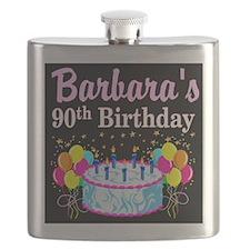 90TH CELEBRATION Flask