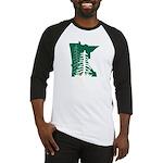 MnGCA-Logo-High Baseball Jersey
