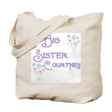Big Sister Courtney Tote Bag