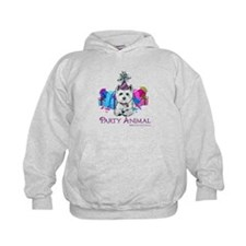Westie Party Celebration Hoodie