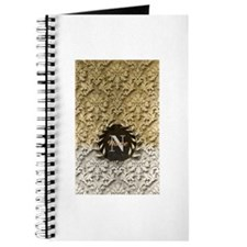 Damask Gold Platinum Monogram Journal