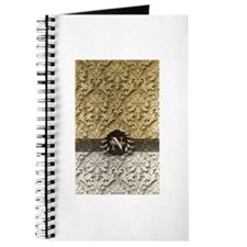 Damask 2 Gold Platinum Monogram Journal