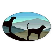 Blue Hills Coonhounds Decal