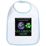screw the cheerleader save the Earth GO GREEN NOW