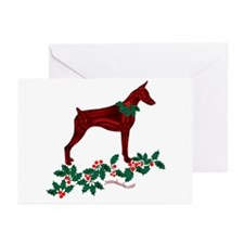Dobe & Holly Greeting Cards (Pk of 10)