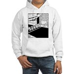 10 K Running Road Race Hooded Sweatshirt