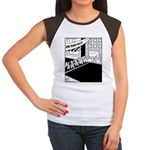 10 K Running Road Race Women's Cap Sleeve T-Shirt