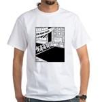 10 K Running Road Race White T-Shirt