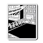 10 K Running Road Race Mousepad