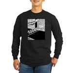 10 K Running Road Race Long Sleeve Dark T-Shirt