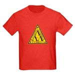 Worn Lambda Lambda Lambda Kids Dark T-Shirt
