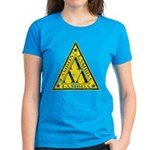 Worn Lambda Lambda Lambda Women's Dark T-Shirt