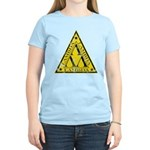 Worn Lambda Lambda Lambda Women's Light T-Shirt