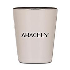 Aracely Digital Name Shot Glass
