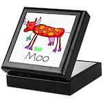Kid Art Cow Keepsake Box