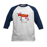 Kid Art Cow Kids Baseball Jersey