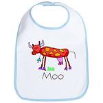 Kid Art Cow Bib