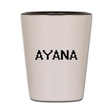 Ayana Digital Name Shot Glass