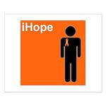 iHope (orange) Small Poster