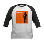 iHope (orange) Kids Baseball Jersey