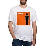 iHope (orange) Fitted T-Shirt