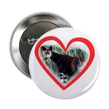 Okapi Heart Button