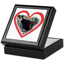 Okapi Heart Keepsake Box