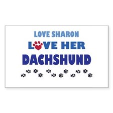 Sharon Rectangle Decal