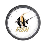The Fish Wall Clock