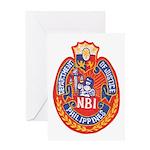 Philippine NBI Greeting Card