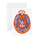 Philippine NBI Greeting Cards (Pk of 10)