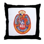 Philippine NBI Throw Pillow