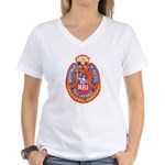 Philippine NBI Women's V-Neck T-Shirt