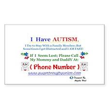 S.m.a.a.r.t.mom Personalized Lost Sticker (10pk)