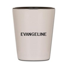 Evangeline Digital Name Shot Glass