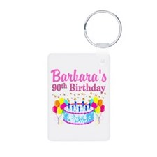 90 AND FABULOUS Keychains