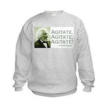 "Frederick Douglass ""Agitate!"" Sweatshirt"