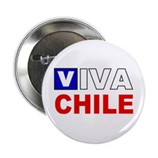 "Viva Chile flag 2.25"" Button (10 pack)"